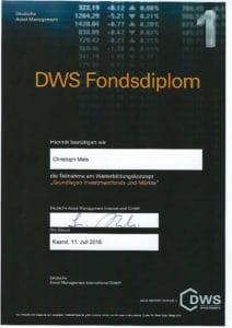 DWS-Diplom