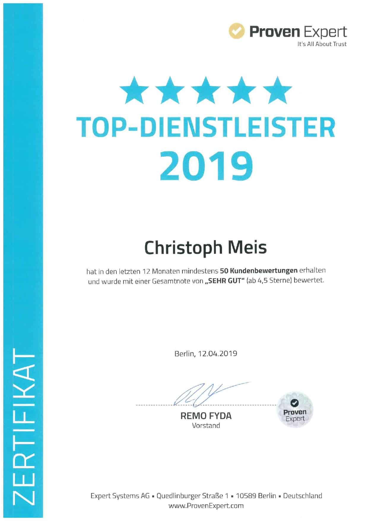 Versicherungsmakler Mönchengladbach 2019