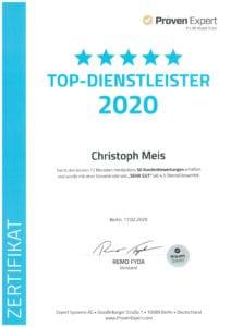 Top-Dienstleister-2020-Versicherungsmakler-Meis